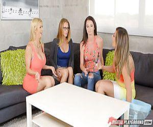 migliori lesbiche trio